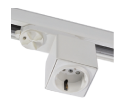 Euro-Track Mount Electrical Outlet led light suppliers in uae