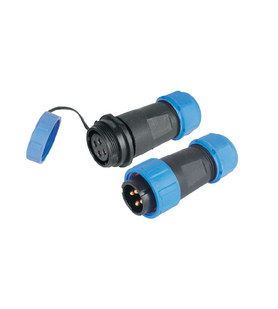 LB0204, Connectors, Waterproof Plug - LUMISYS | Connectors Manufacturers in UAE, UK
