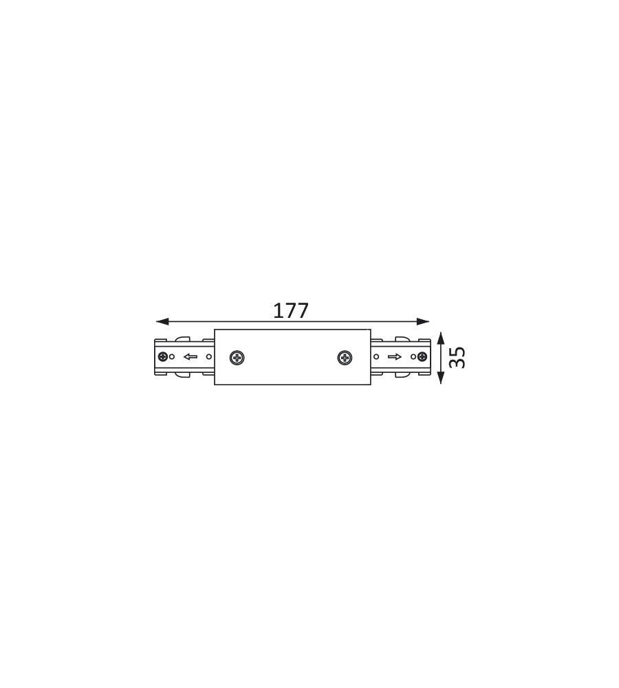 2460736, 3 Wires Track, Connectors - LUMISYS | 3 Wires Track Manufacturers in UAE, UK